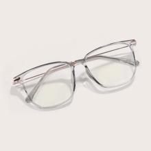 Gafas de marco cuadrado