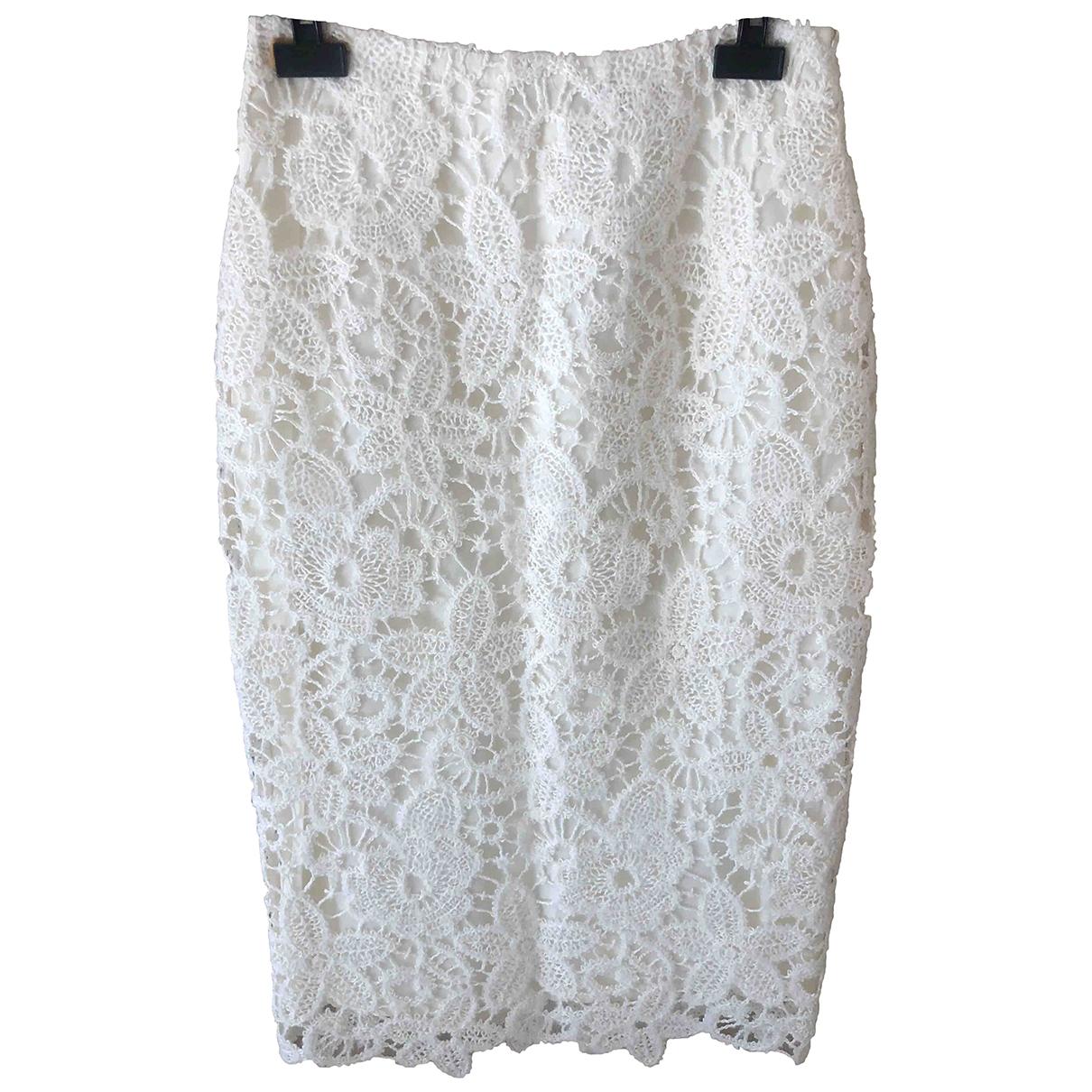 Ermanno Scervino \N Beige Wool skirt for Women 40 IT