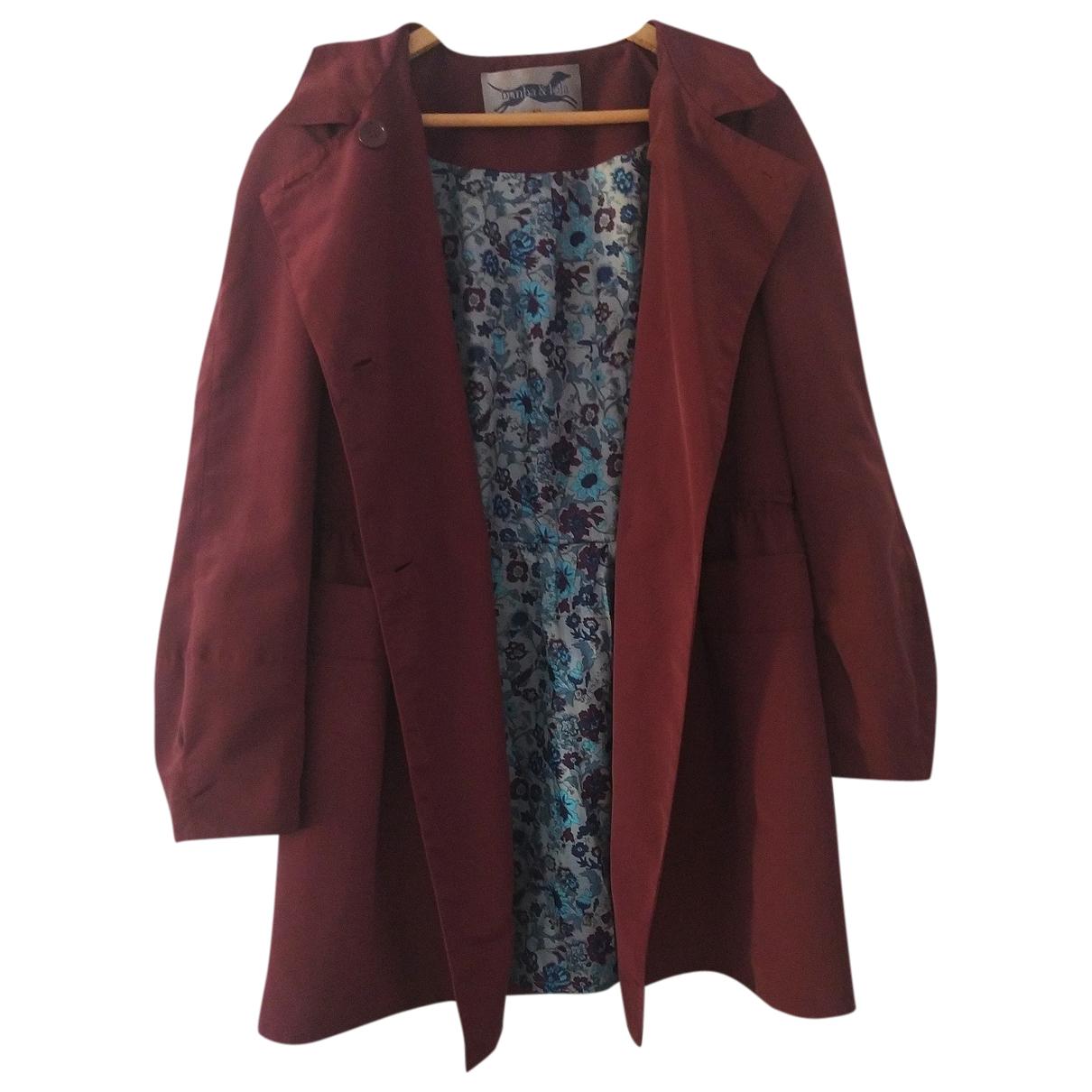 Bimba Y Lola - Manteau   pour femme - bordeaux