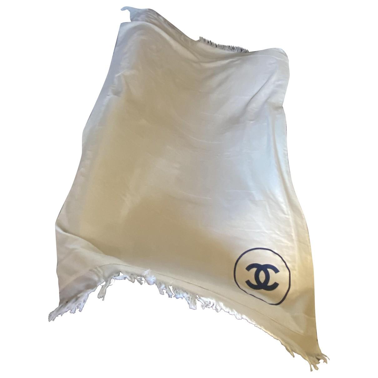 Chanel - Linge de maison   pour lifestyle en coton - ecru