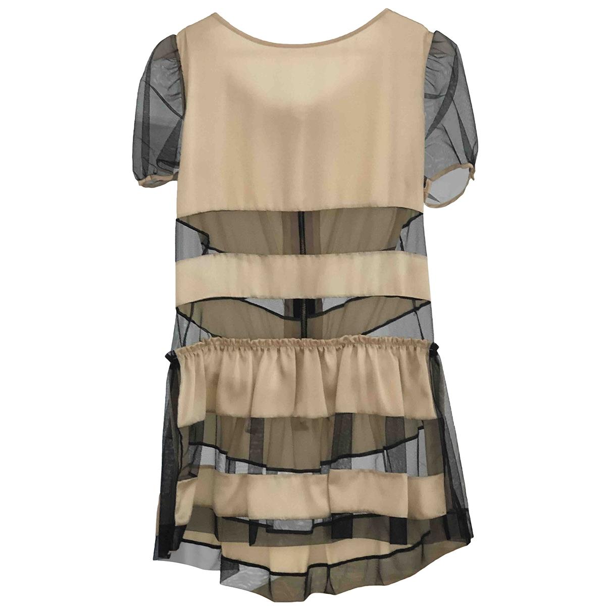 Luella - Robe   pour femme en soie - beige