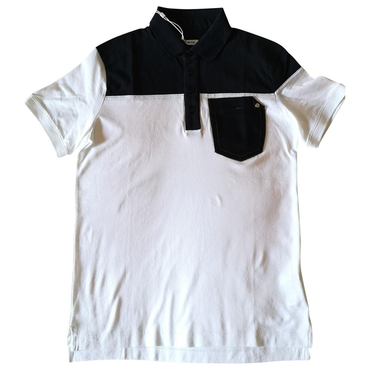Dirk Bikkembergs - Polos   pour homme en coton - blanc