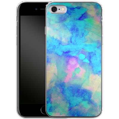 Apple iPhone 6 Silikon Handyhuelle - Electrify Ice Blue von Amy Sia