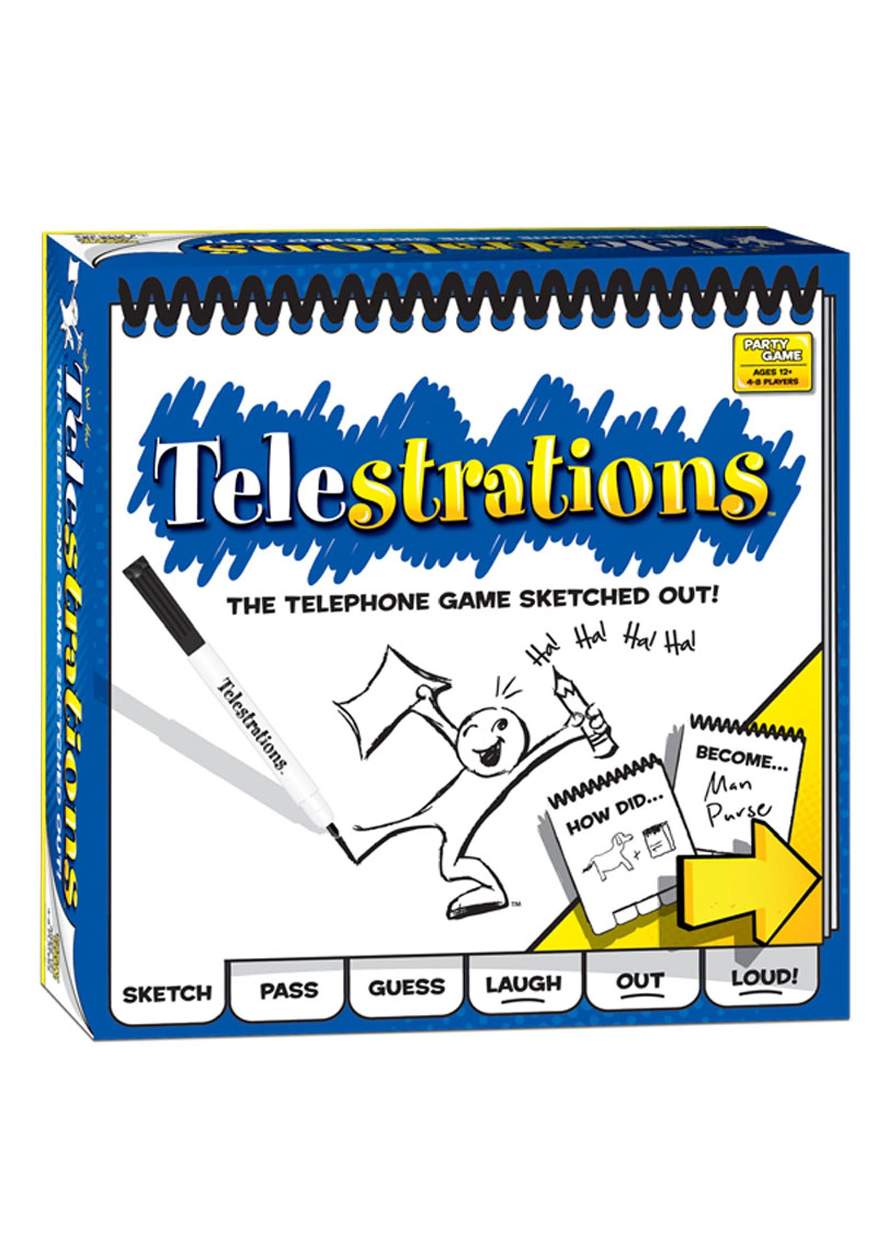 Telestrations 8 Player - The Original Party Game