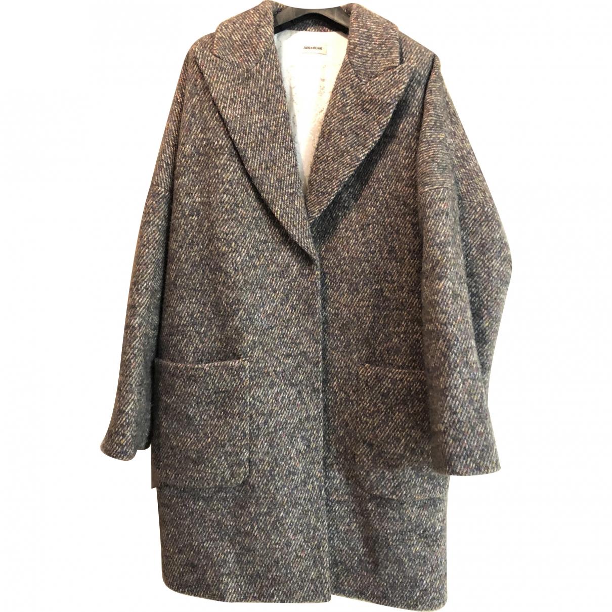 Zadig & Voltaire \N Multicolour Wool coat for Women M International