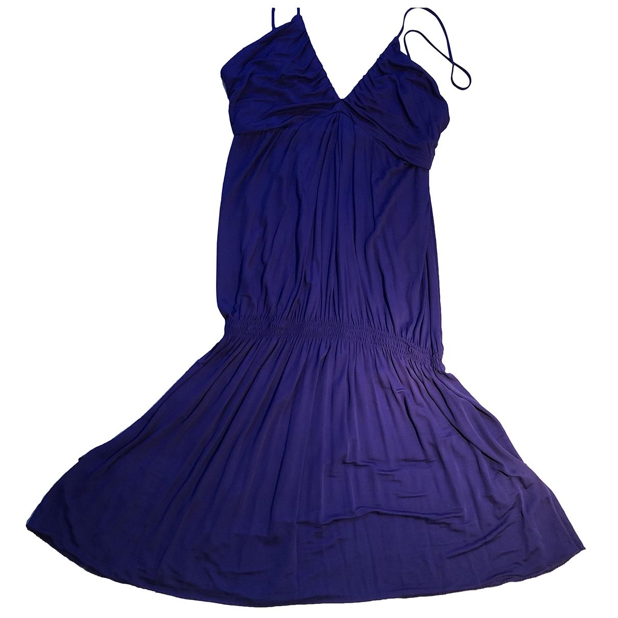 Patrizia Pepe \N Kleid in  Lila Seide
