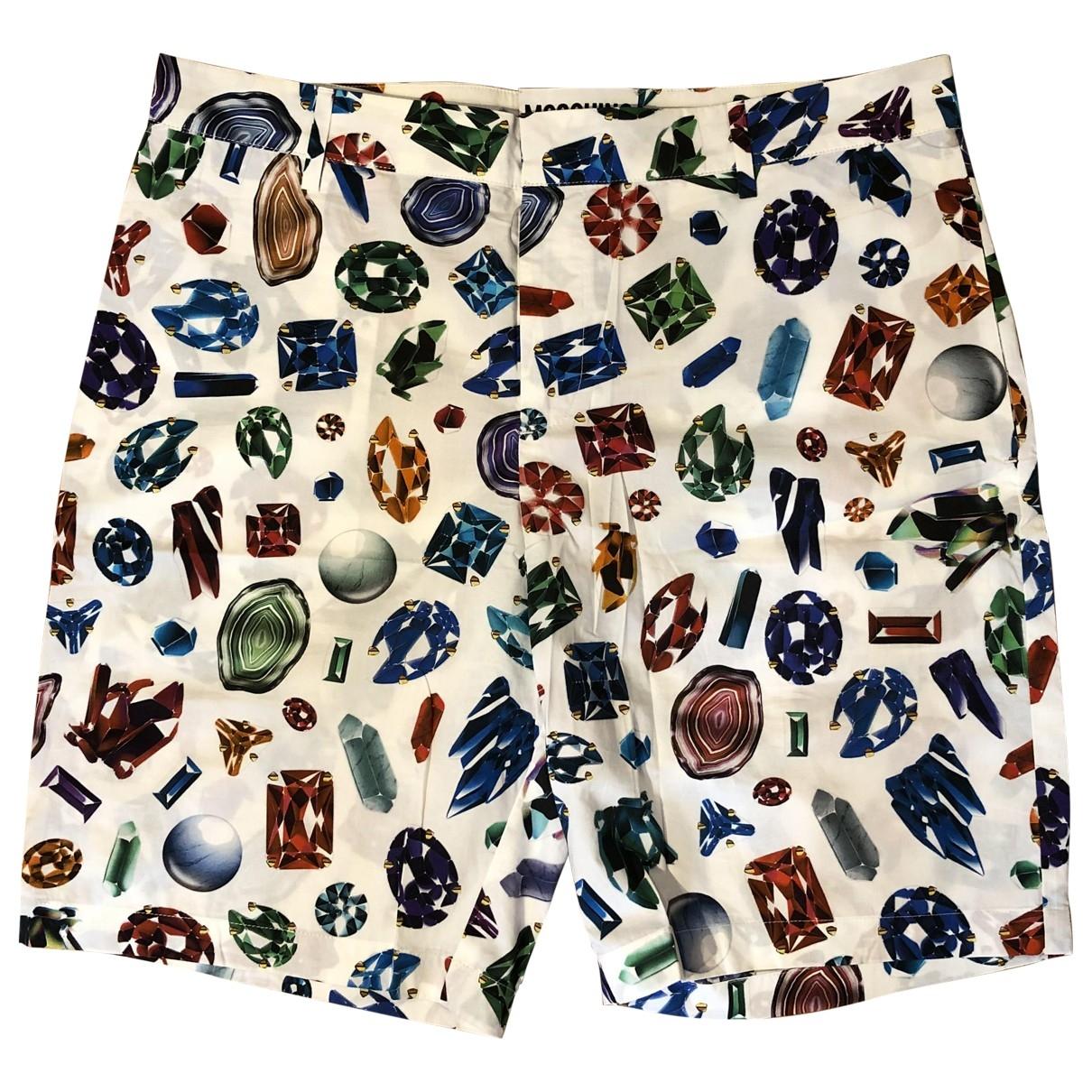 Moschino \N Shorts in  Bunt Baumwolle