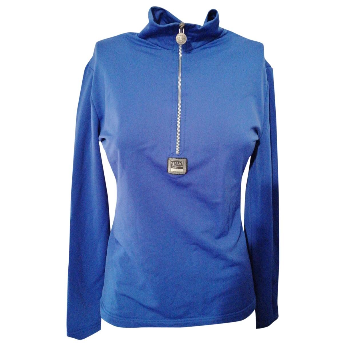 Versace Jeans \N Top in  Blau Synthetik