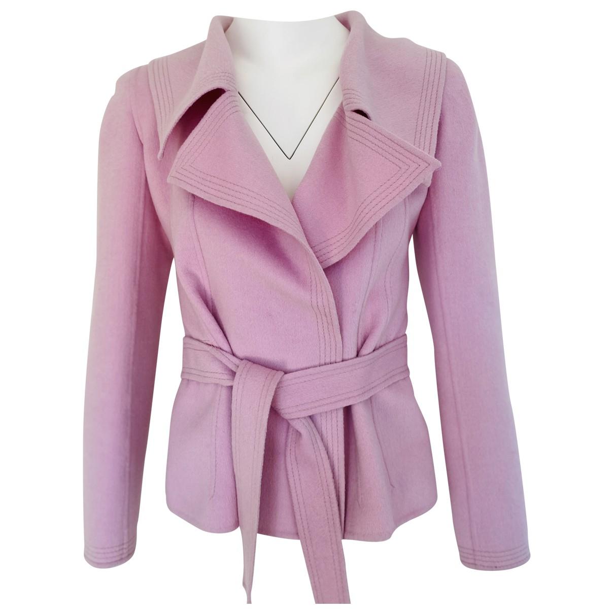 Valentino Garavani \N Pink Wool jacket for Women 6 US