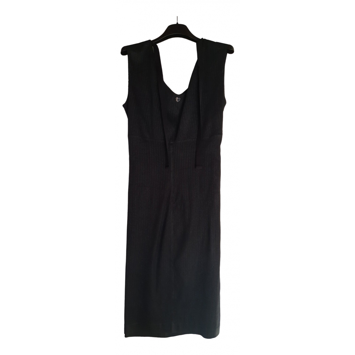 Twin Set \N Kleid in  Schwarz Leinen