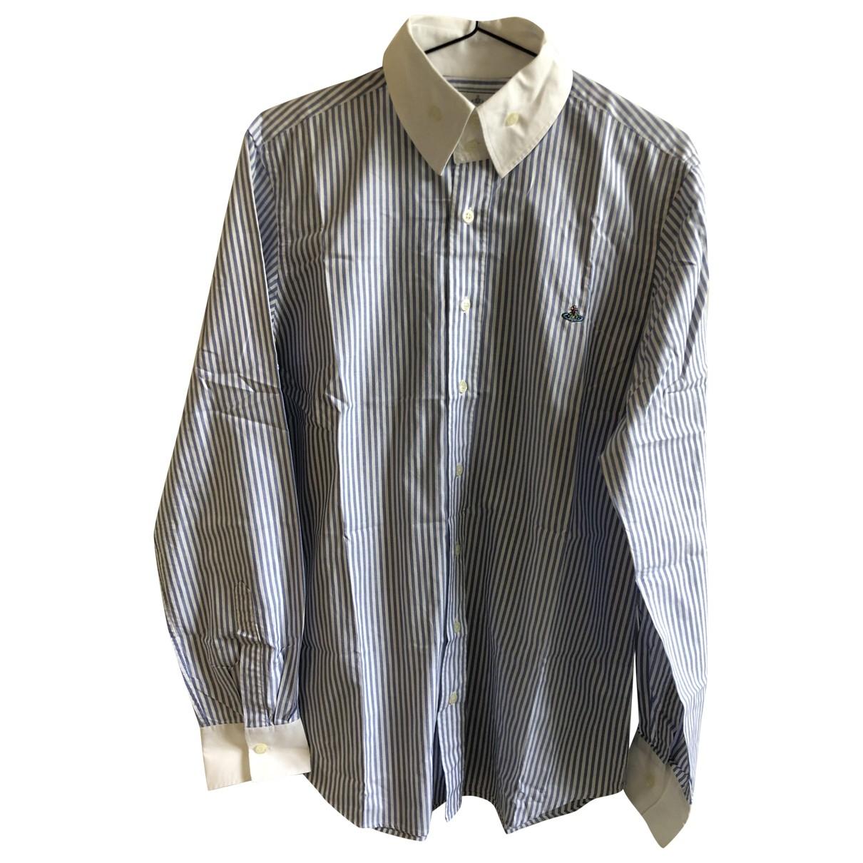 Vivienne Westwood \N Blue Cotton Shirts for Men L International