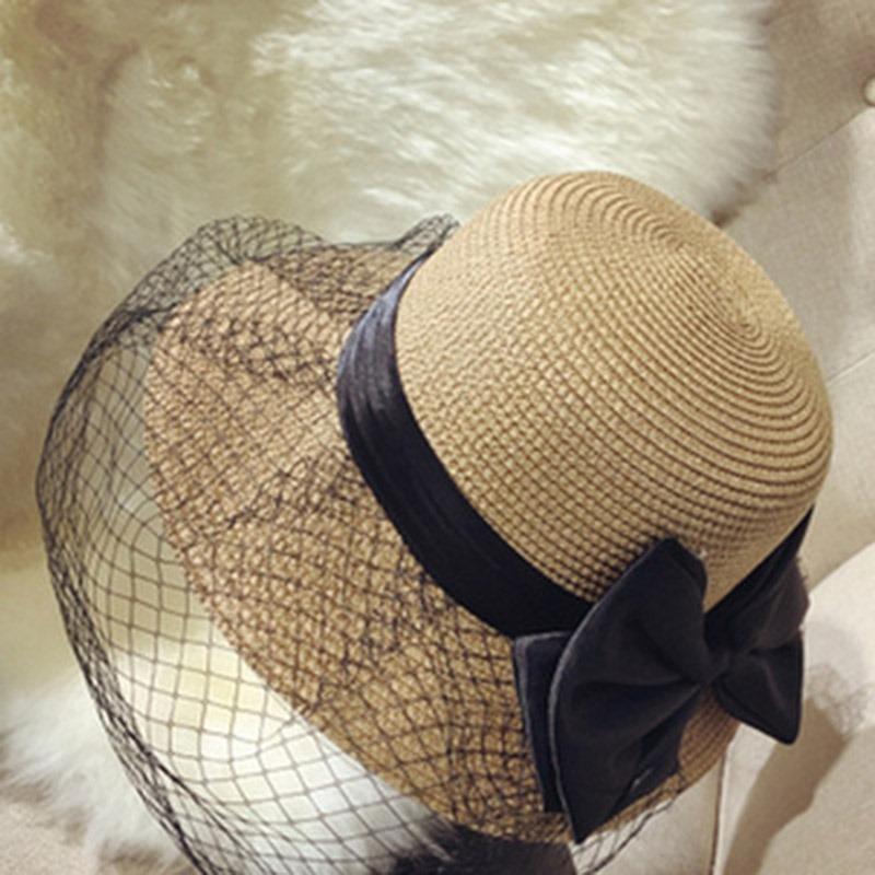 Ericdress Mesh Straw Plain Summer Hat