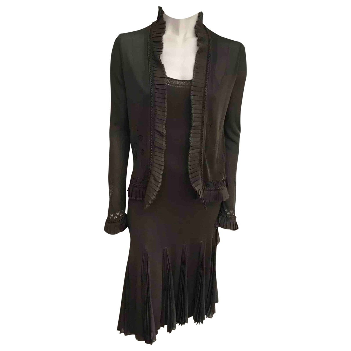 Chanel \N Kleid in  Braun Synthetik