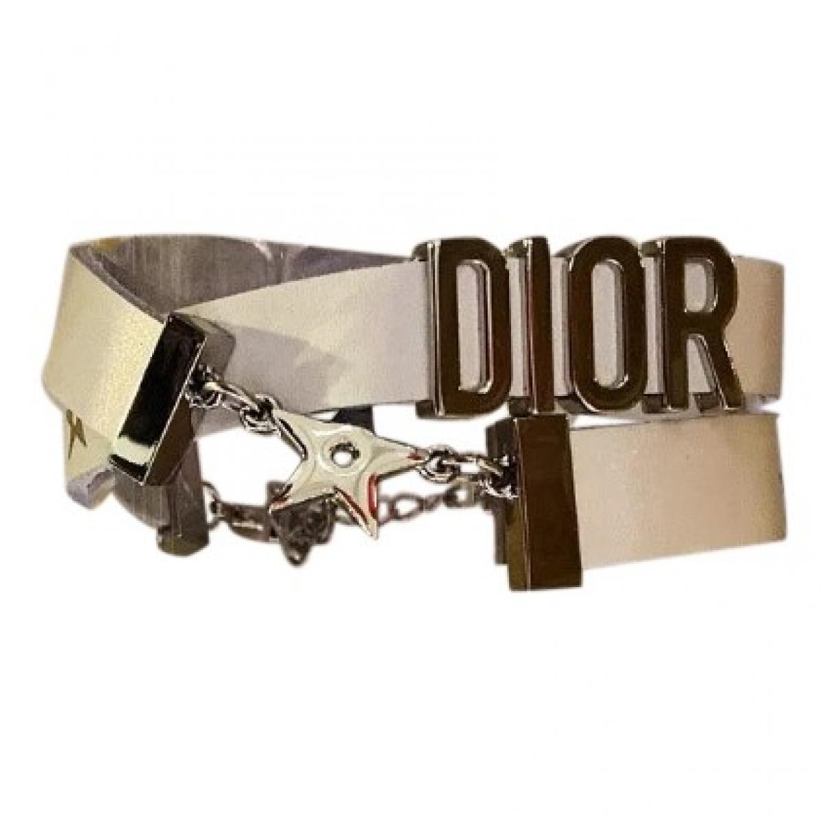 Dior \N White Metal bracelet for Women \N