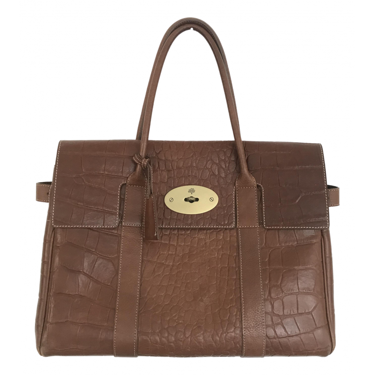 Mulberry Bayswater Brown Leather handbag for Women N