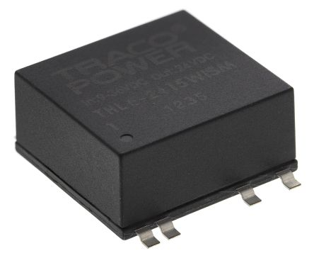 TRACOPOWER THL 6WISM 6W Isolated DC-DC Converter Surface Mount, Voltage in 9 → 36 V dc, Voltage out 24V dc