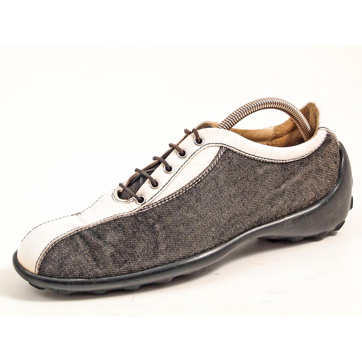 Tods \N Sneakers in  Schwarz Leinen