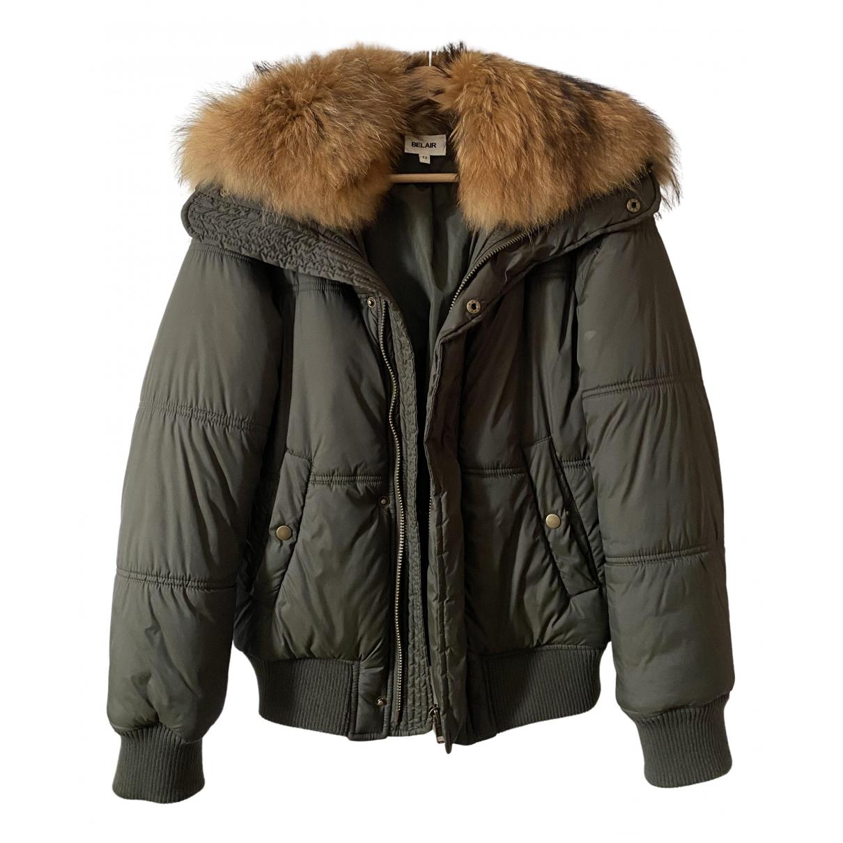 Bel Air - Manteau   pour femme - kaki