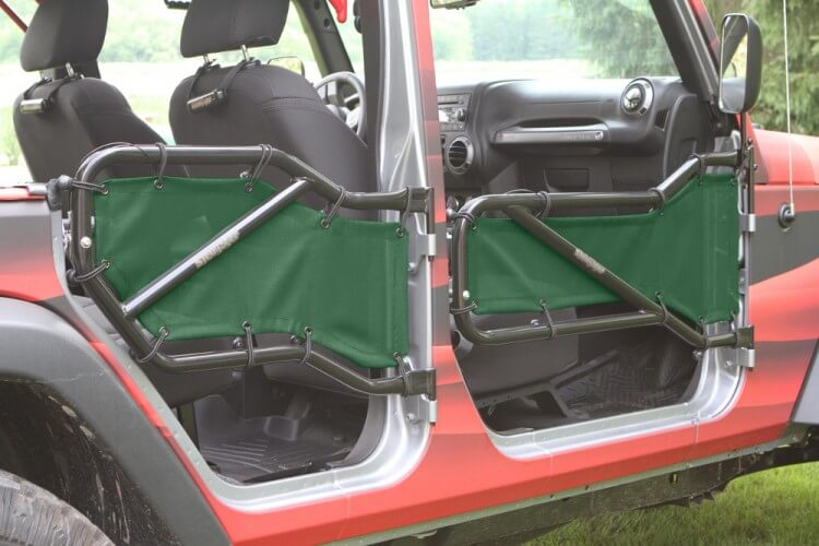 Steinjager J0041382 Doors, Covers Wrangler JK 2007-2018 Front and Rear Doors Spruce Green