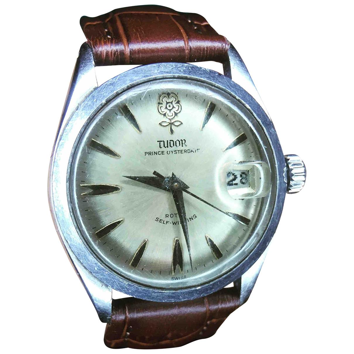 Rolex - Montre   pour homme en acier - argente