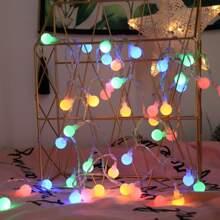 1pc String Light With 20pcs Bulb
