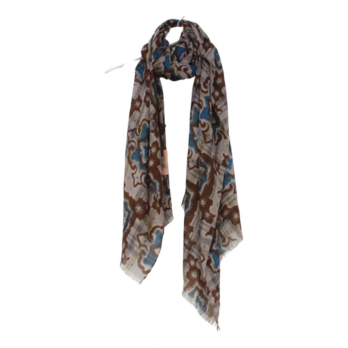 Etro - Foulard   pour femme en laine - multicolore