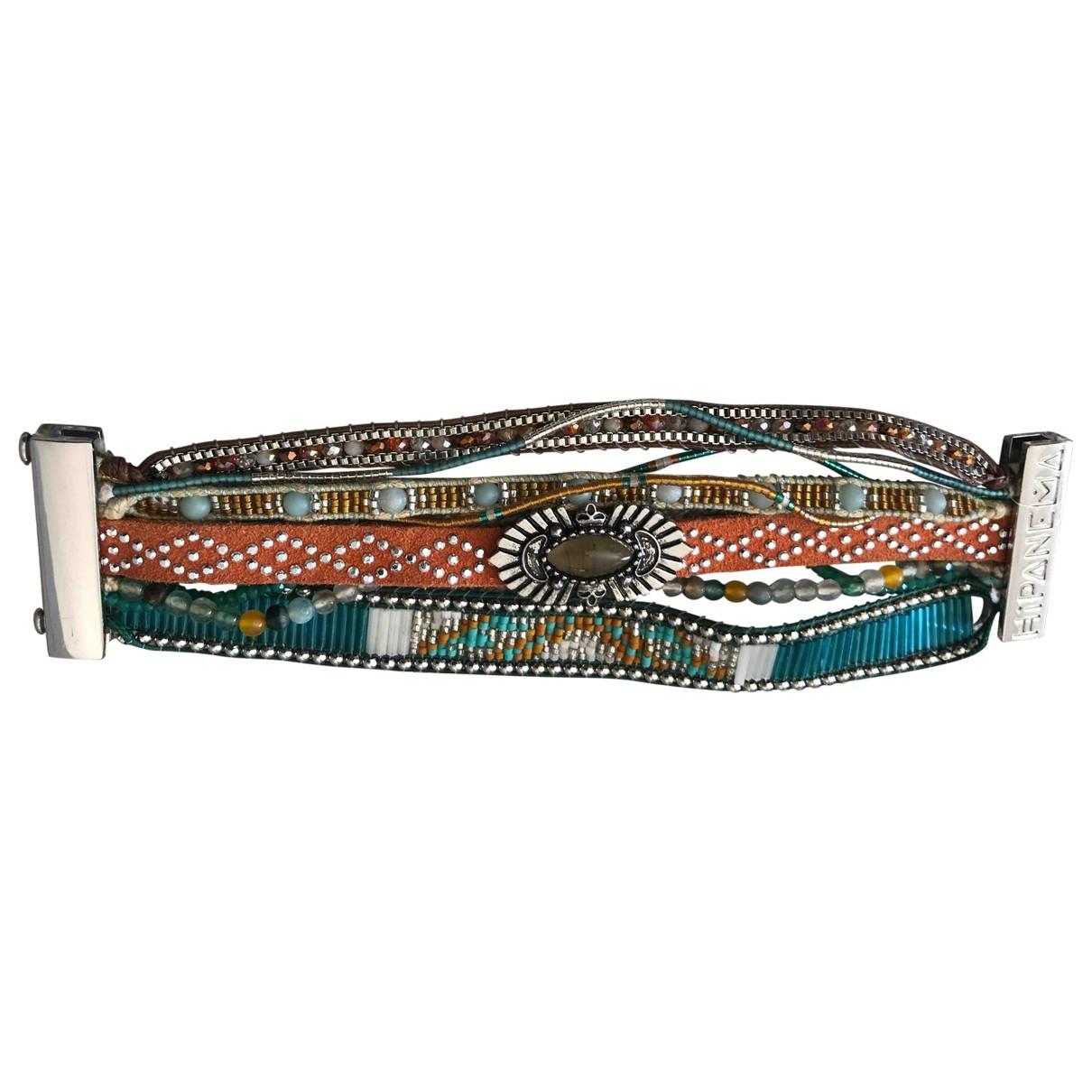 Hipanema - Bracelet   pour femme en metal - multicolore