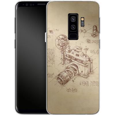 Samsung Galaxy S9 Plus Silikon Handyhuelle - Moment Catcher von Enkel Dika