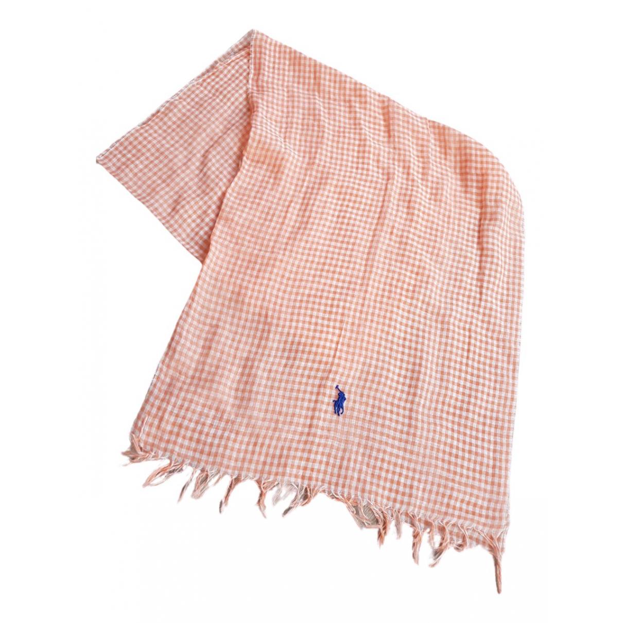 Polo Ralph Lauren - Foulard   pour femme - orange