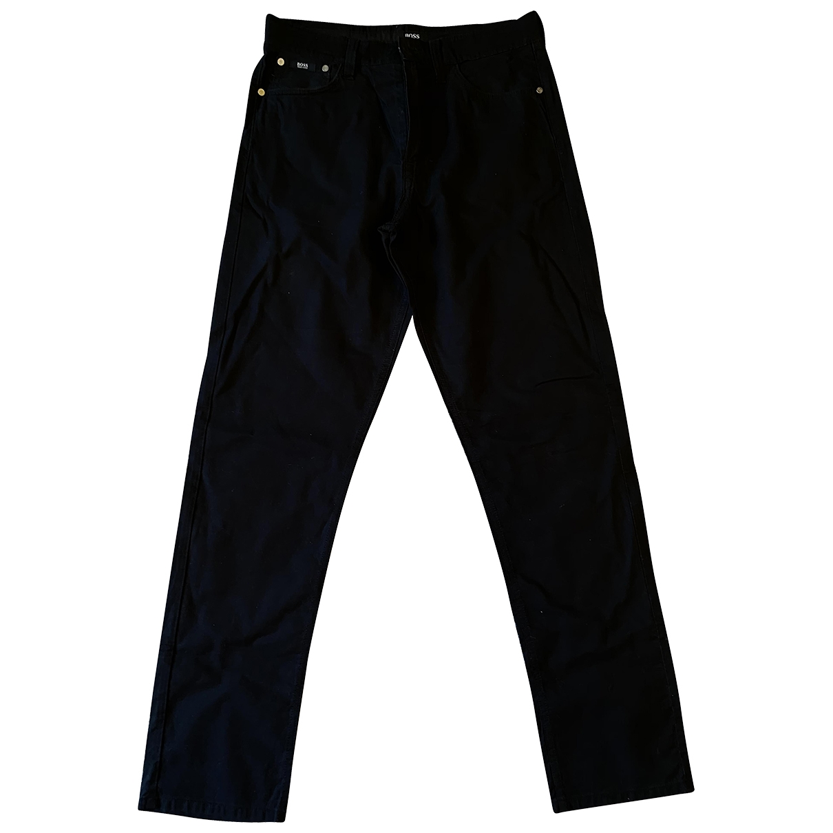 Boss \N Black Cotton Jeans for Men 32 US