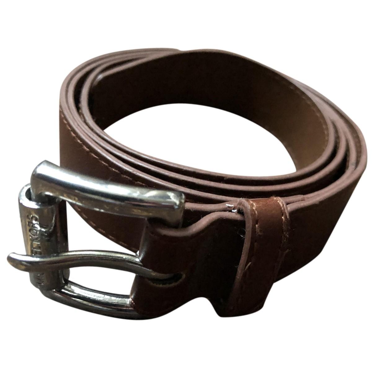 Michael Kors N Brown belt for Women 85 cm