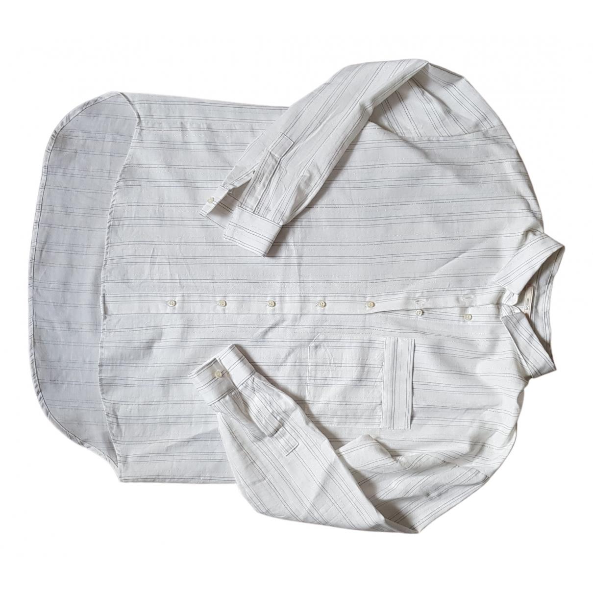 Sessun - Top   pour femme en coton - blanc
