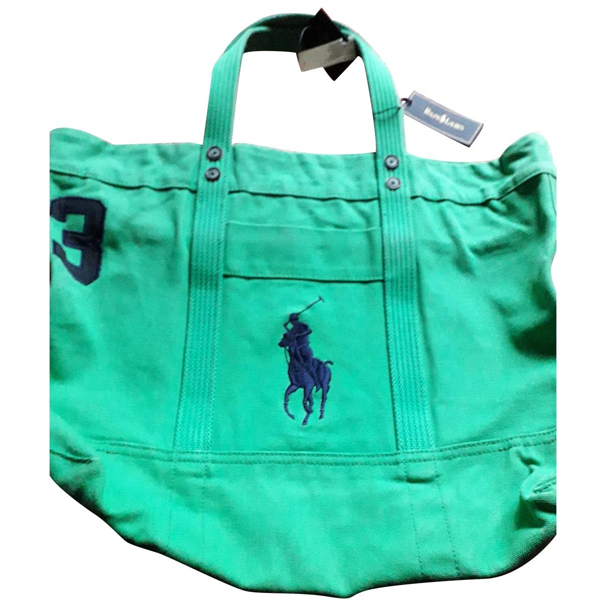 Polo Ralph Lauren \N Green Cloth Travel bag for Women \N