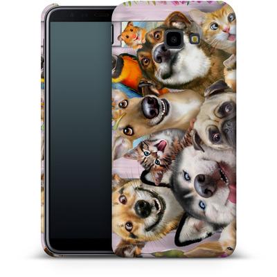 Samsung Galaxy J4 Plus Smartphone Huelle - Pet Selfie von Howard Robinson