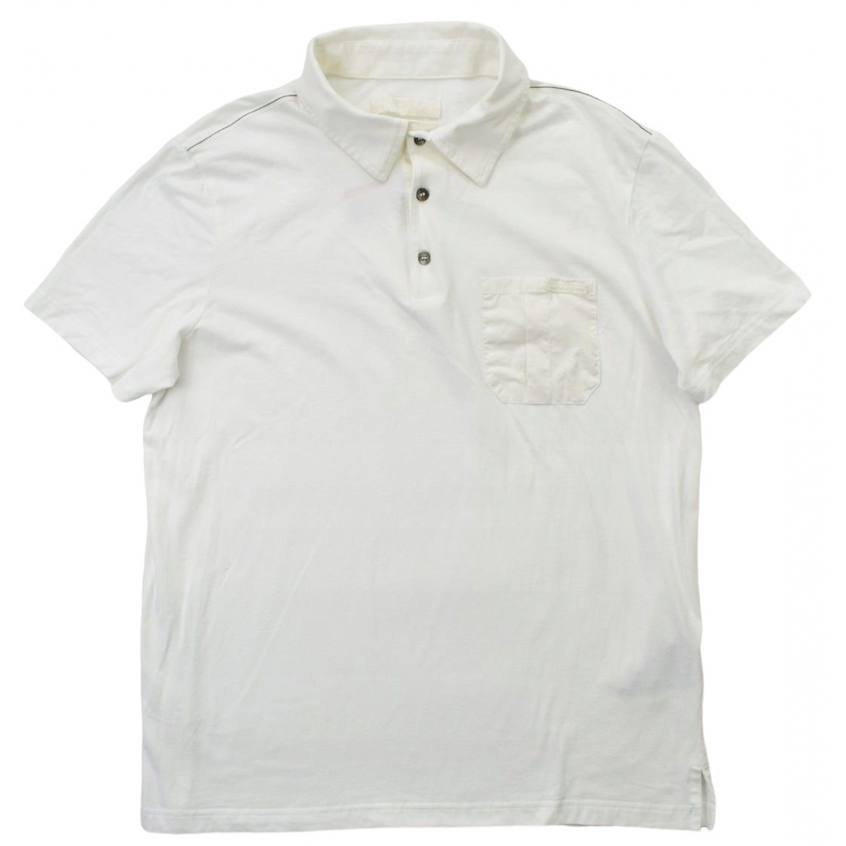 Prada \N Poloshirts in  Weiss Baumwolle