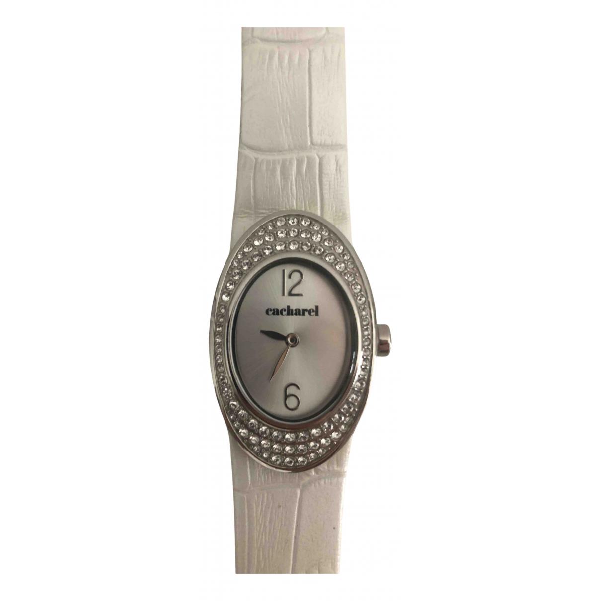Cacharel \N Uhr in  Weiss Stahl