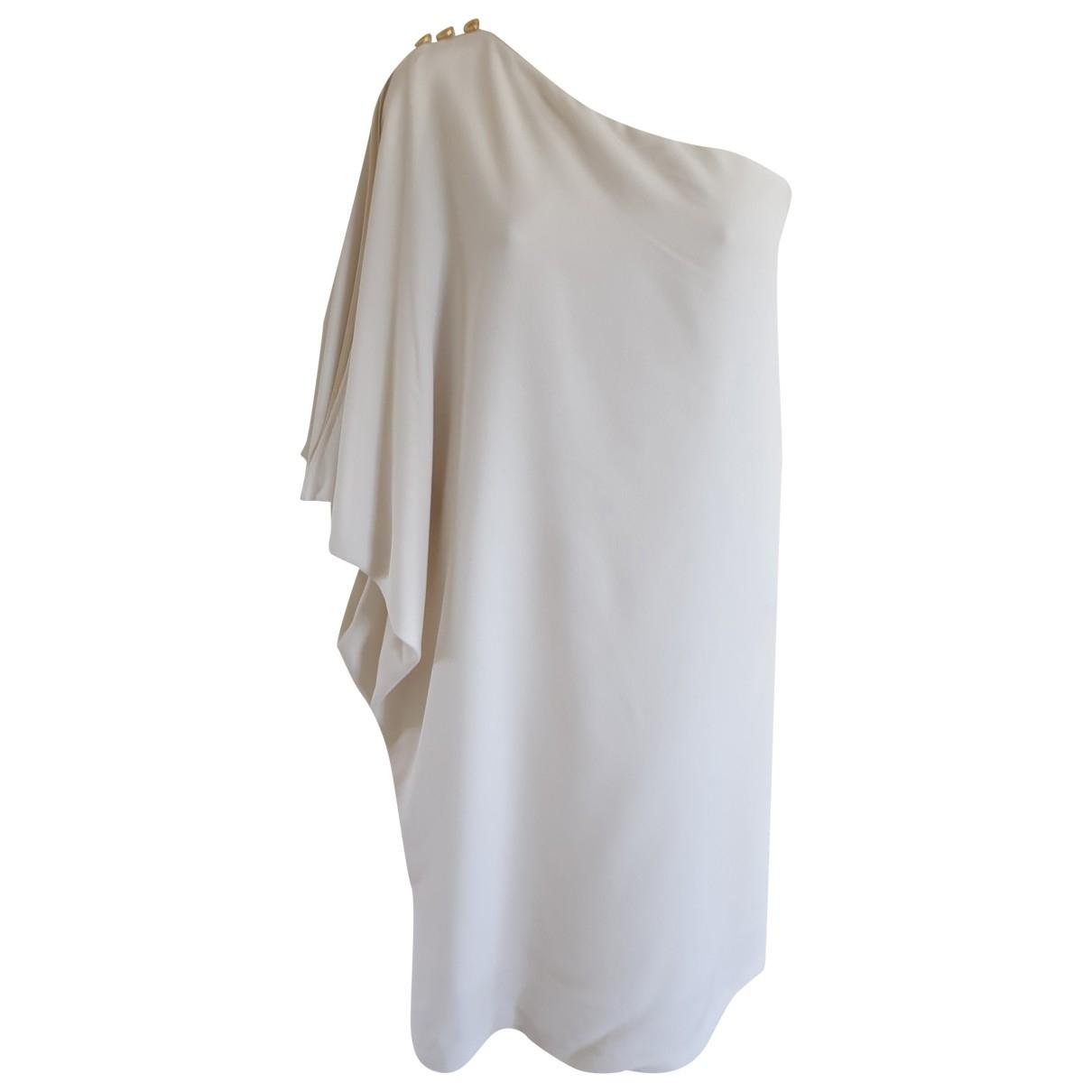 Fendi \N Kleid in  Weiss Wolle