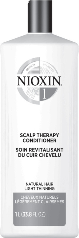 Scalp Therapy Conditioner, System 1 (Fine/Normal to Light Thinning, Natural Hair) - 33.8oz