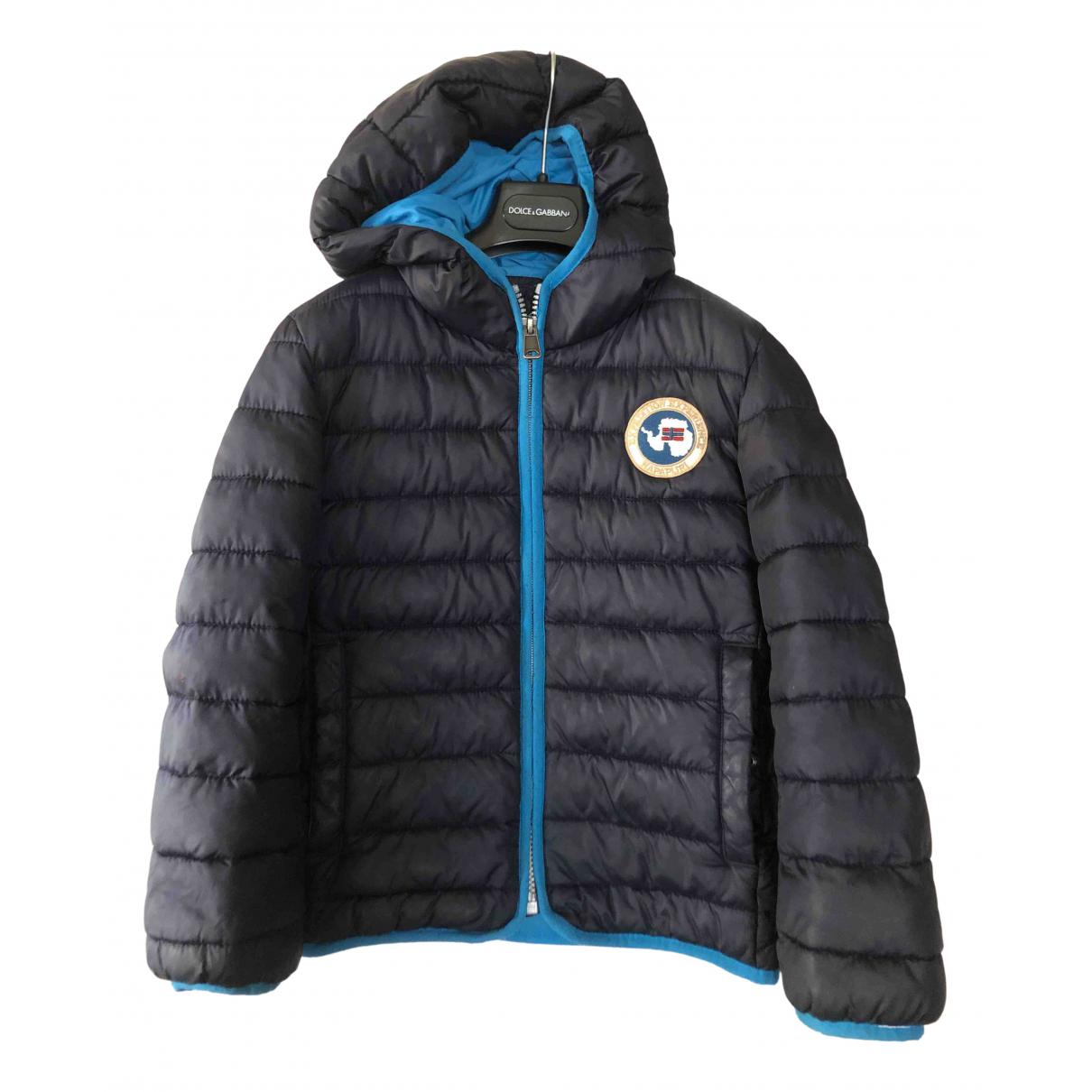 Napapijri - Blousons.Manteaux   pour enfant - bleu