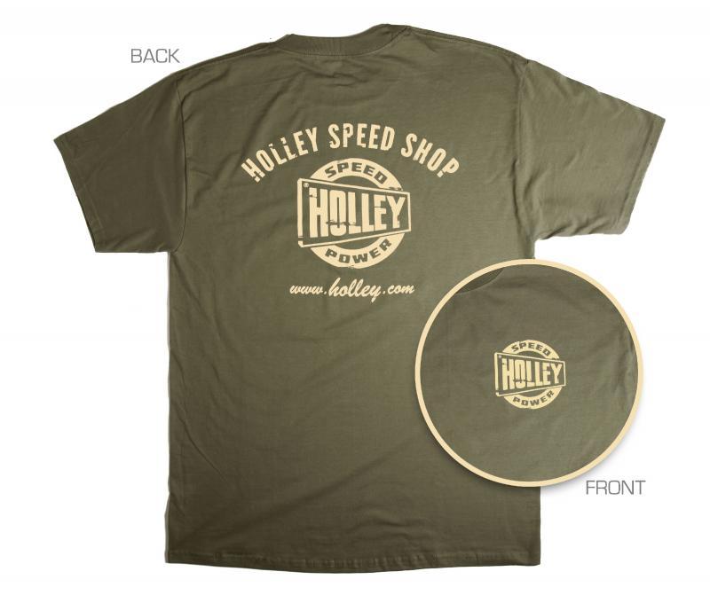 TEE - HOLLEY TRUCK - GREEN - LG