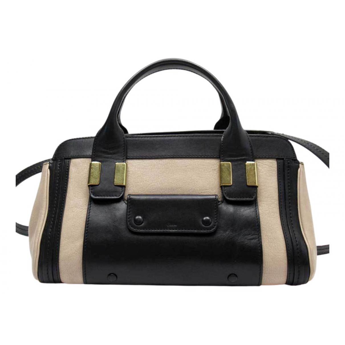 Chloé Alice Beige Suede handbag for Women \N