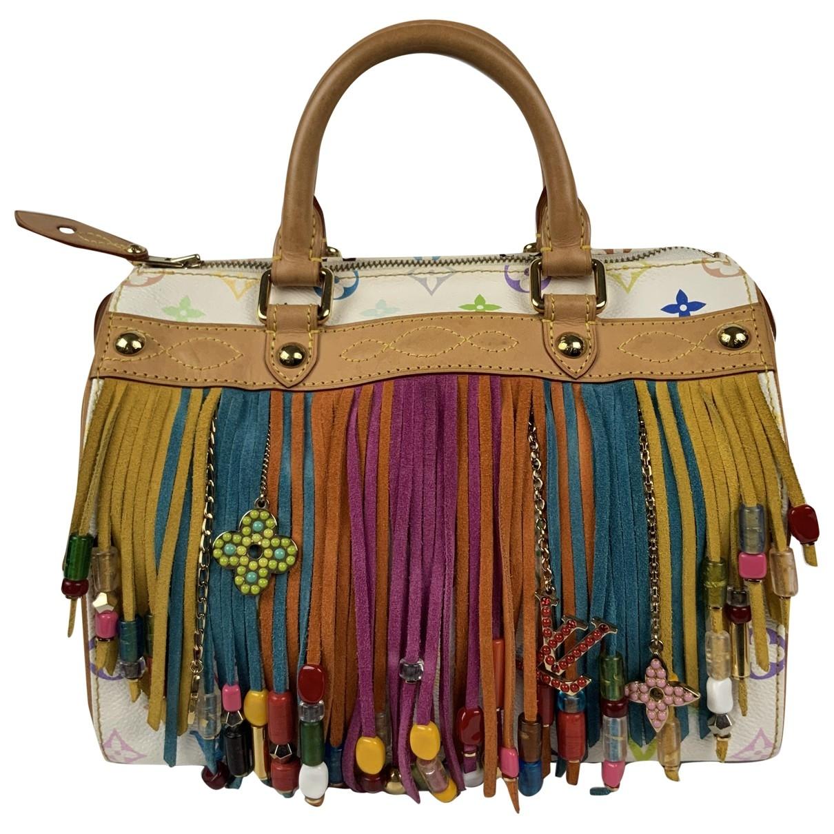 Louis Vuitton Speedy Multicolour Leather handbag for Women \N
