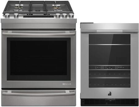 2 Piece Kitchen  Appliances Package with JDS1450FS 30