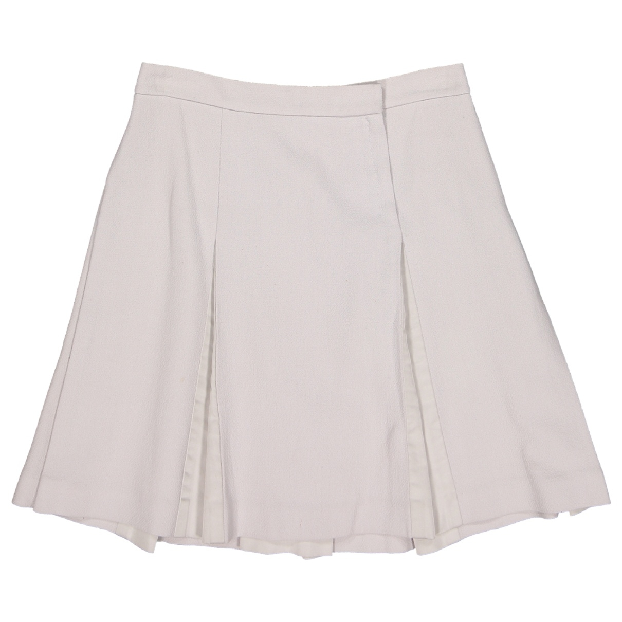 Louis Vuitton \N Grey Wool skirt for Women 40 FR