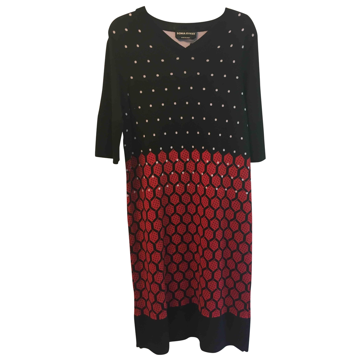 Sonia Rykiel \N Multicolour Wool dress for Women 36 FR