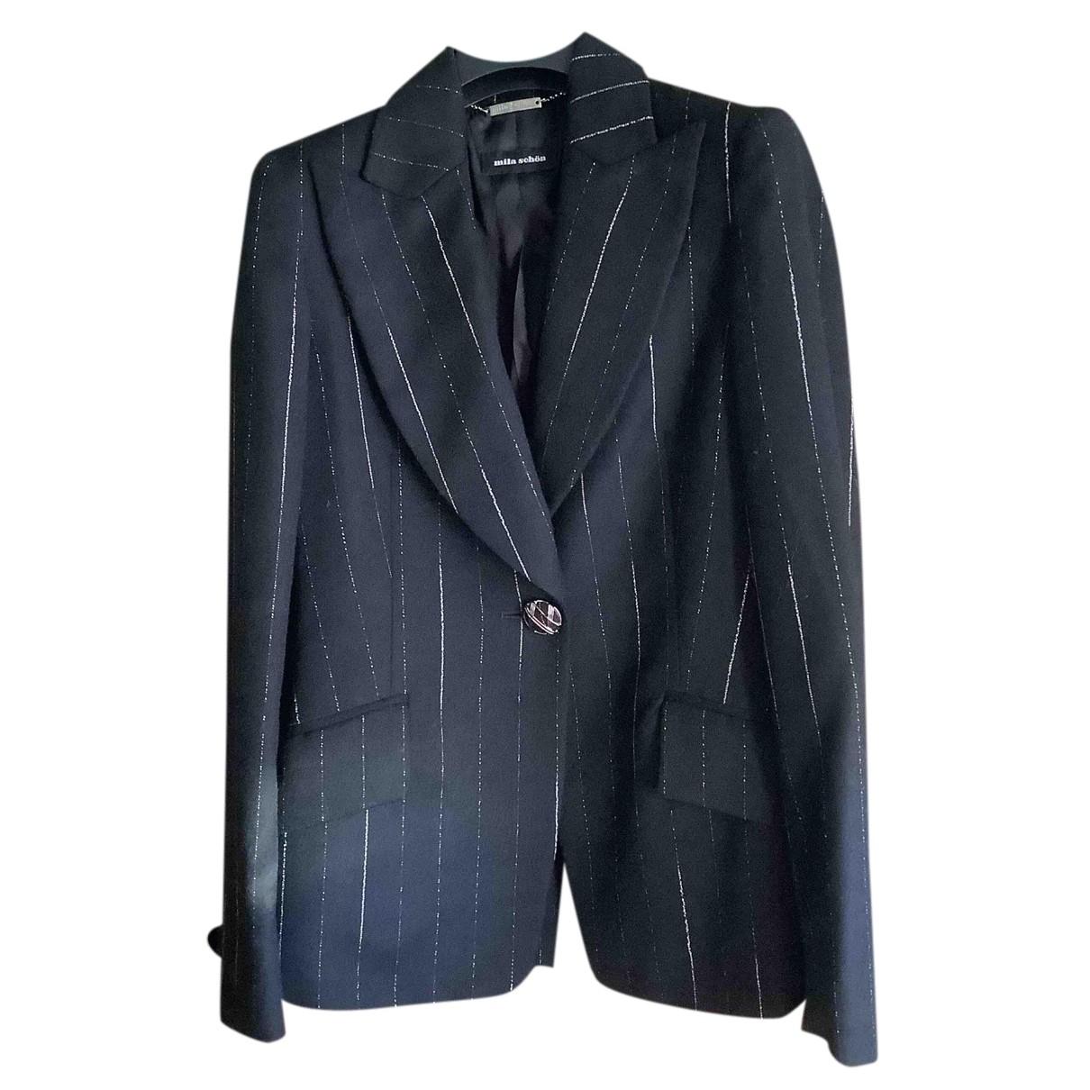 Mila Schon Concept - Veste   pour femme en laine - noir