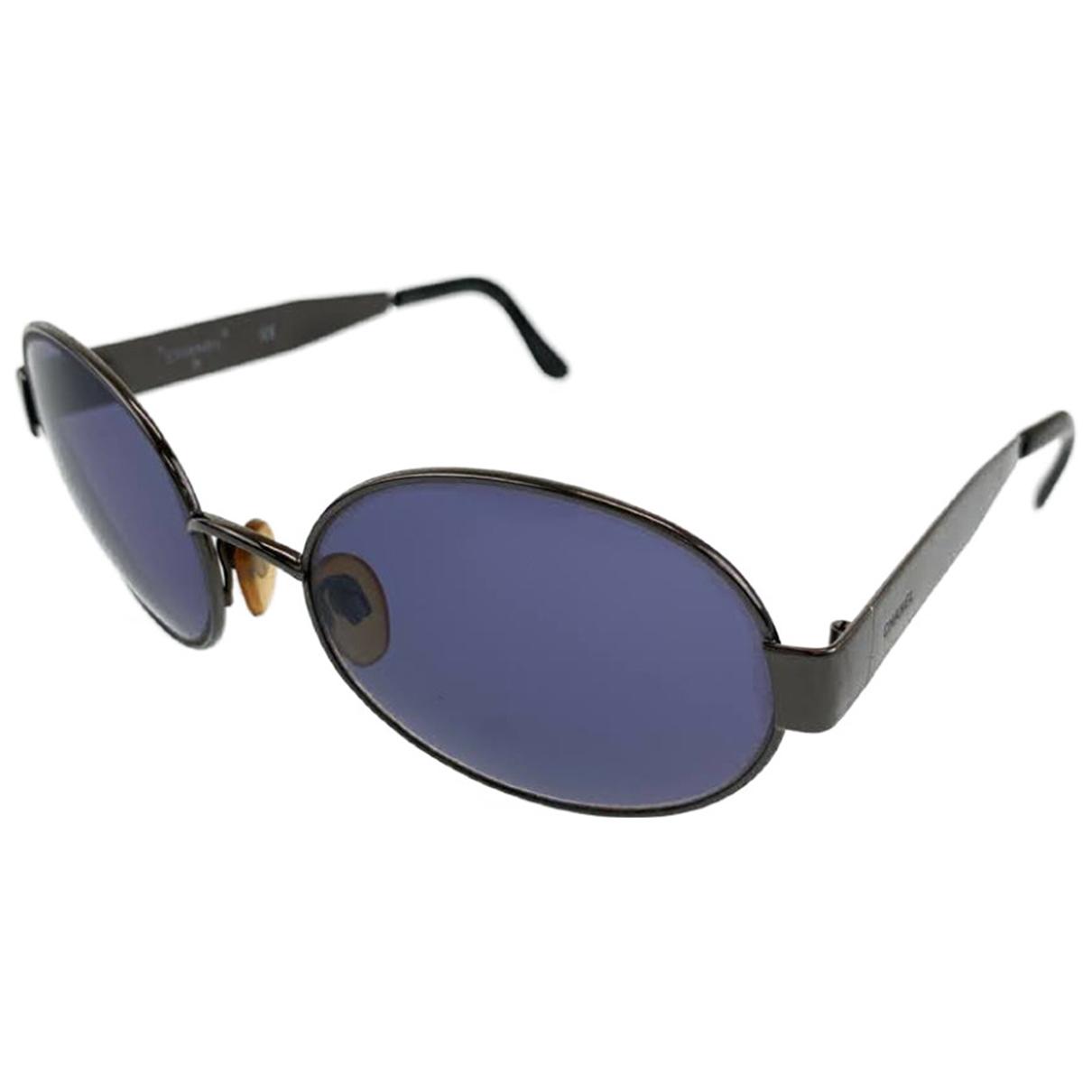 Chanel N Metal Sunglasses for Men N