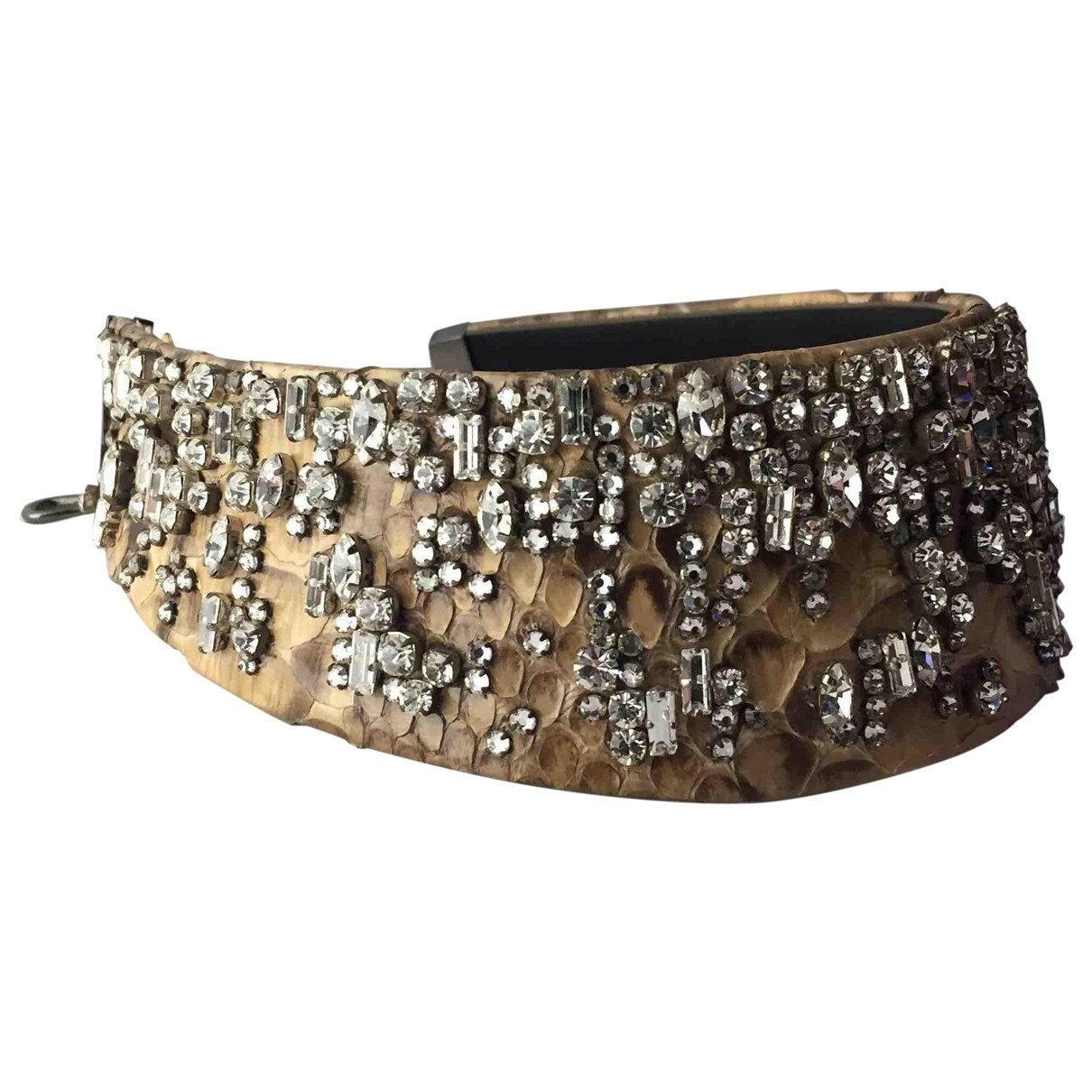 Tom Ford \N Beige Crystal necklace for Women \N