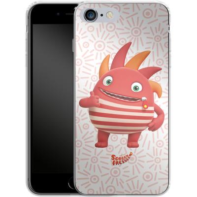 Apple iPhone 6 Plus Silikon Handyhuelle - Sorgenfresser Flamm von Sorgenfresser