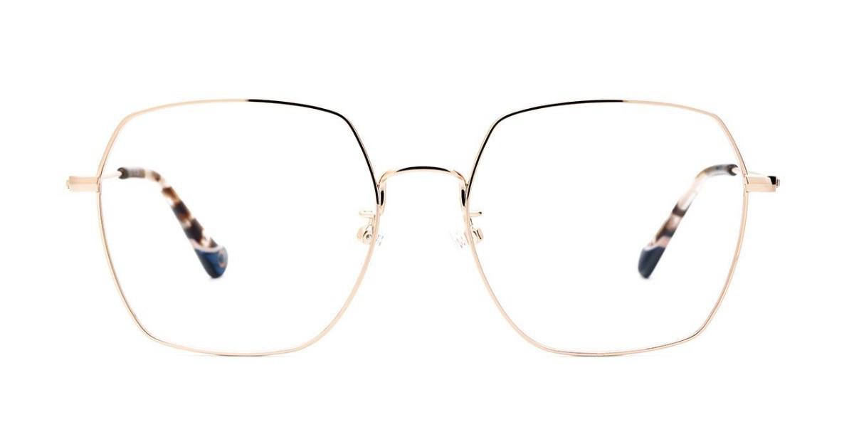 Etnia Barcelona LKF.A Asian Fit PGPK Women's Glasses Gold Size 55 - Free Lenses - HSA/FSA Insurance - Blue Light Block Available